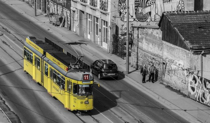 Belgrade Train Architecture Serbia Street Way
