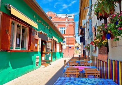 serbia-novi-sad-colorful-restaurant-street